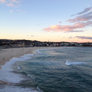 Bondi, last winter. BRRRRR...